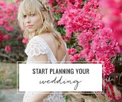 planning and wedding stage
